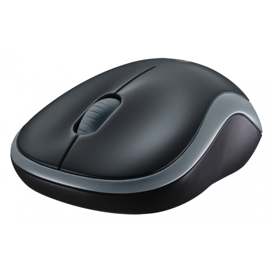 Logitech M185 Wireless Mouse 1000 DPI Black/Grey Image