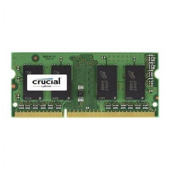 4GB Crucial DDR3 1866MHz CL13 SO-DIMM 204-pin Laptop Memory Module Image