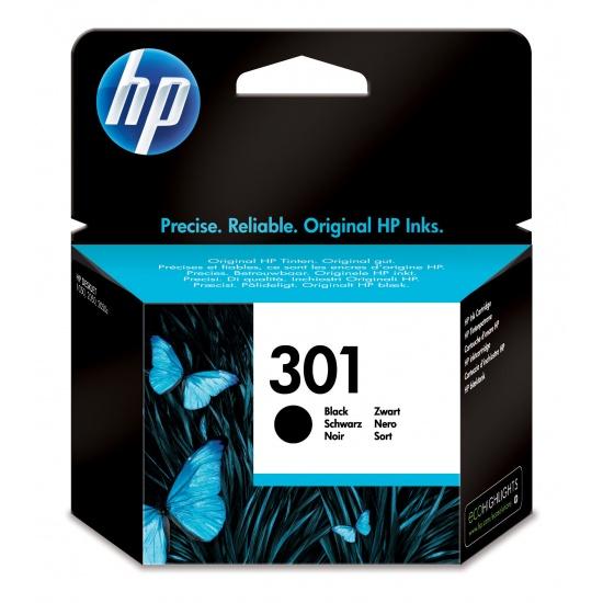 HP 301 Ink Cartridge Black Image