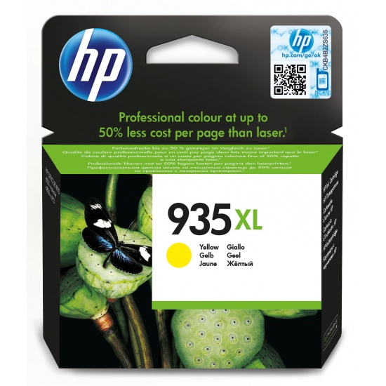 HP 935XL Ink Cartridge Yellow Image