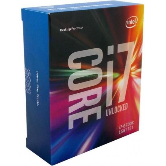 Intel Core i7-6700K 4GHz 8MB Smart Cache CPU LGA1151 Skylake Desktop Processor Boxed Image