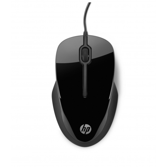 HP X1500 Wired 3-Button Optical Comfort Mouse Image