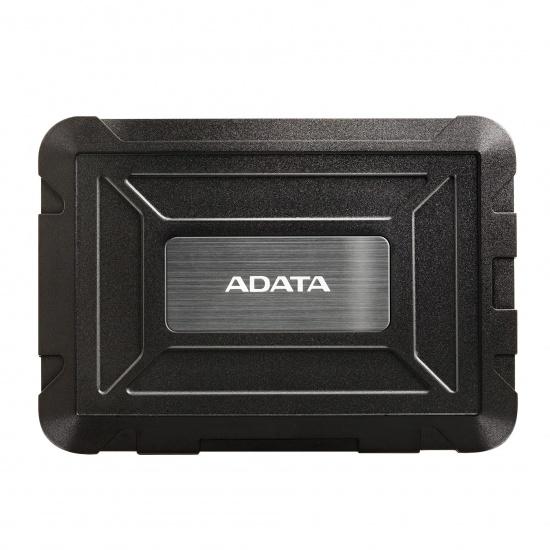 AData ED600 2.5-inch External SSD/HDD Enclosure Tool-Free Design Black Image