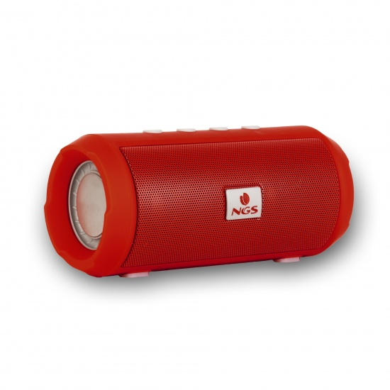 NGS Roller Tumbler 6W Wireless BT Speaker - Red Image