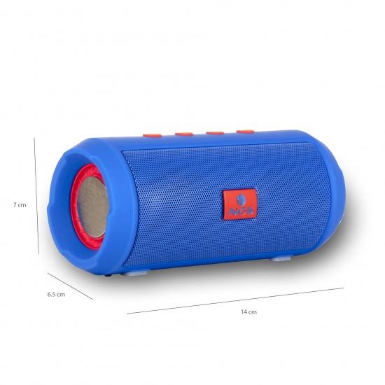NGS Roller Tumbler 6W Wireless BT Speaker - Blue Image