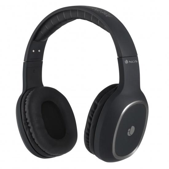 NGS Artica Envy Wireless BT Headphones - Black Image