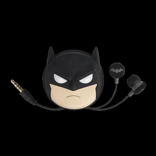 DC Comics Batman Earphones with Travel Case Image