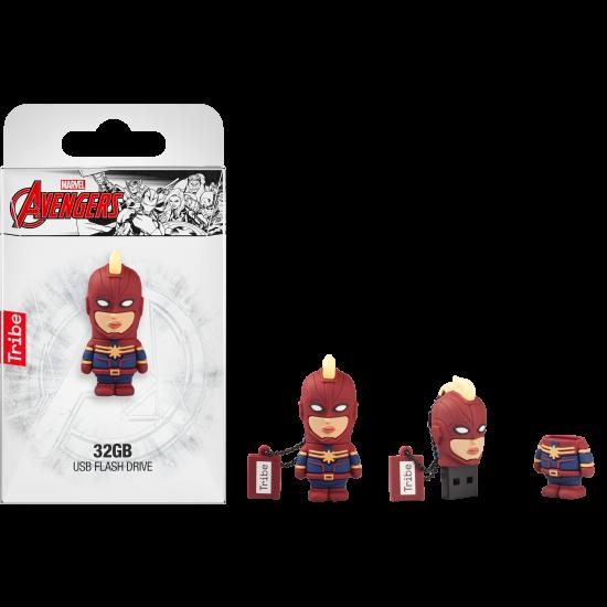 32GB Captain Marvel USB Flash Drive Image