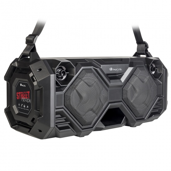 NGS 100W Premium Portable BT BoomBox Speaker - StreetFusion Image