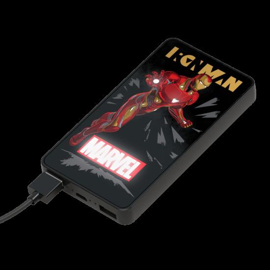 6000mAh Marvel Iron Man Lumina Power Bank Image
