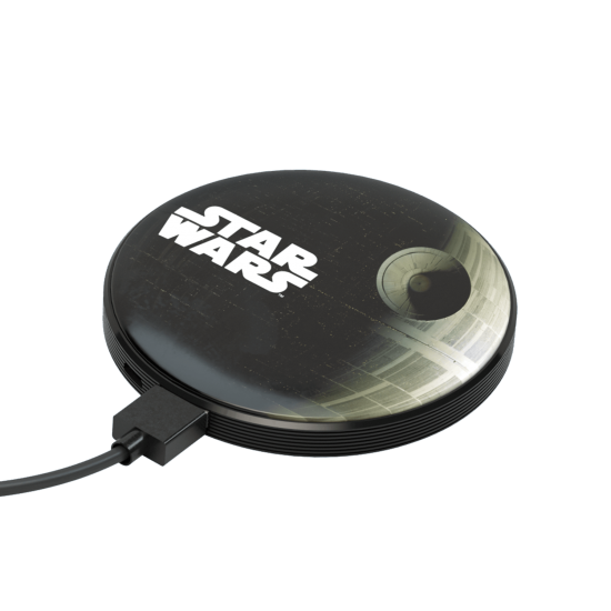 4000mAh Star Wars Death Star Stripe Power Bank Image