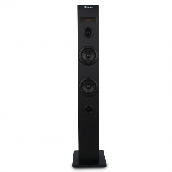 NGS 50W Wireless BT Tower Speaker with Stereo Output and Remote Control, Sky Charm Image