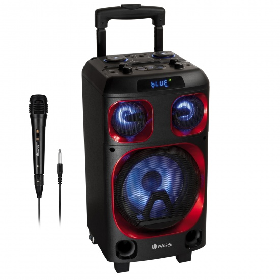 NGS 120W Portable Wireless BT Speaker with 8