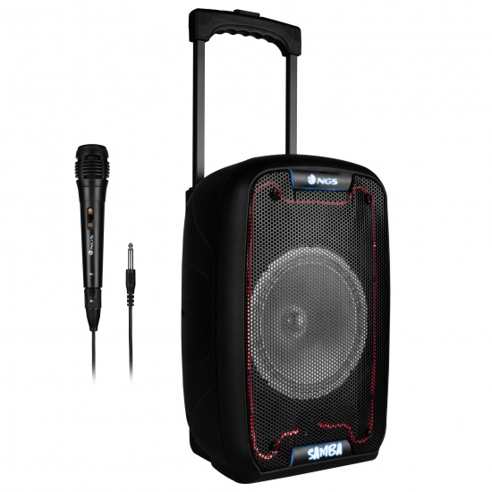 NGS 30W Portable Wireless BT Speaker with Trolley - Wild Samba Image
