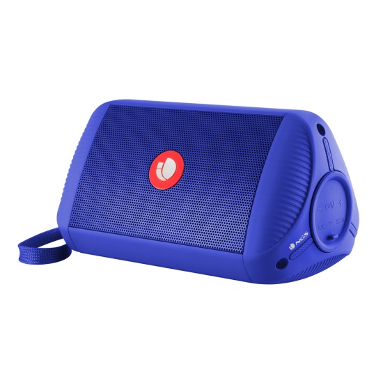 NGS Roller Ride 10W Portable Wireless BT and TWS Speaker - Blue Image