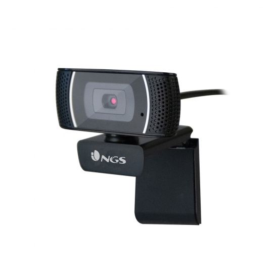 NGS Full HD 1920 x 1080 USB Webcam with built in Microphone Image