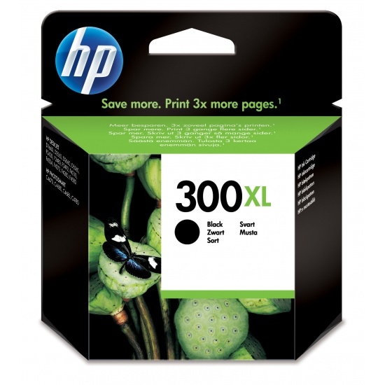 HP 300XL High Yield Black Original Ink Cartridge Image