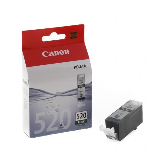 Canon PGI-520BK Black Ink Cartridge Image