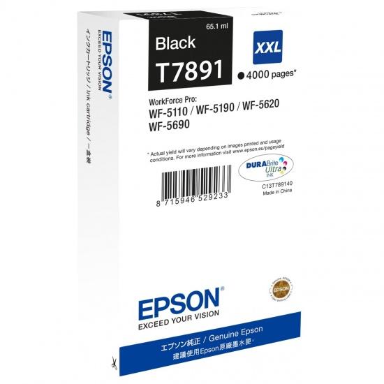 Epson T7891 XXL Black Ink Cartridge Image
