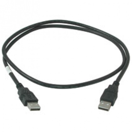 C2G 2M USB2.0 Type-A Male to Type-A Male Cable Black Image