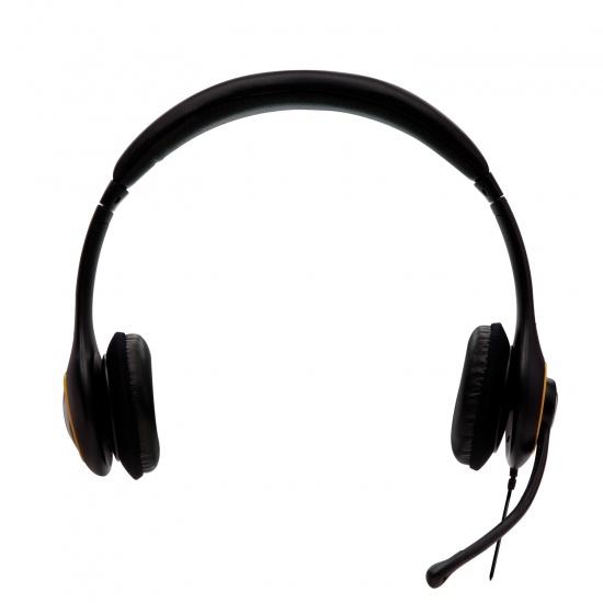 V7 Delux Gaming Headset 3.5mm Circumaural Black Image