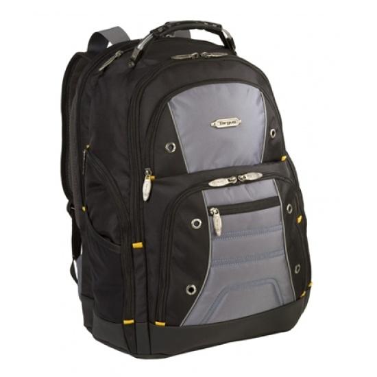Targus Drifter II 16-inch Laptop Backpack - Black/Grey Image