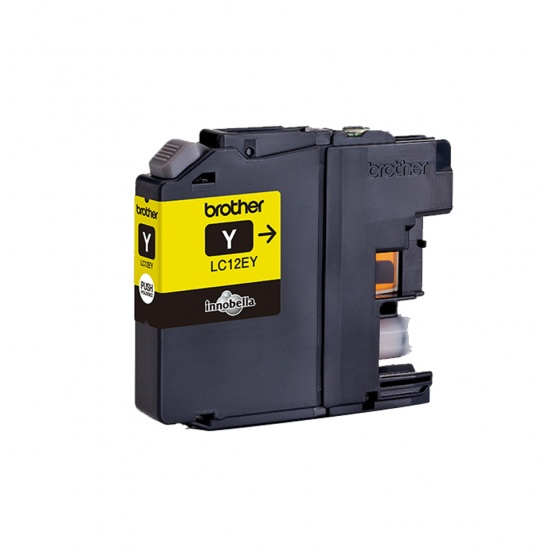 Brother LC-12EY Ink Cartridge - Yellow Image