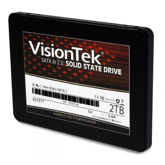 2TB VisionTek 2.5-inch Internal Solid State Drive Image