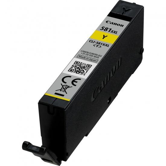 Canon CLI-581 XXL Yellow Ink Cartridge Image