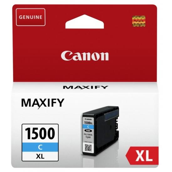 Canon PGI-1500 XL Cyan Ink Cartridge Image