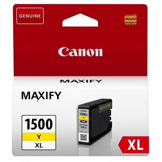 Canon PGI-1500 XL Yellow Ink Cartridge Image