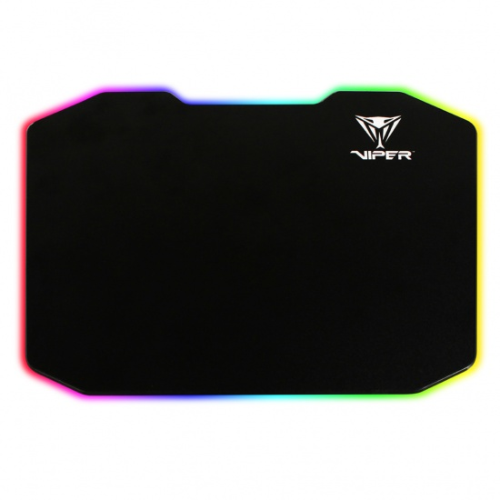 Patriot Viper LED Gaming Mouse Pad - Black Image
