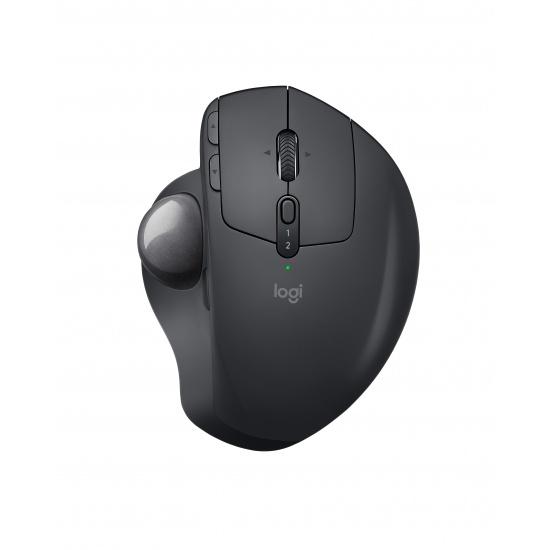 Logitech MX Ergo RF Wireless Bluetooth Mouse - Black Image