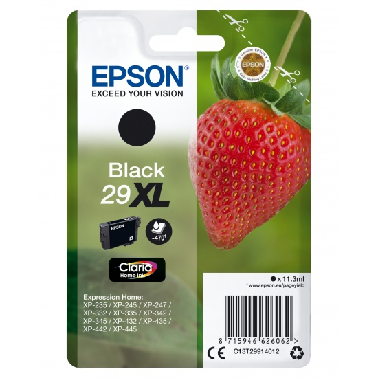 Epson 29XL T299140 Black Ink Cartridge Image