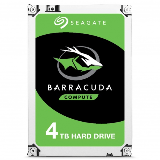 4TB Seagate Barracuda 3.5-inch Sata III 6GB Internal Hard Drive Image