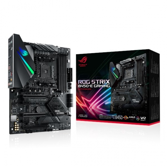 Asus ROG Strix B450-E AMD B450 AM4 ATX DDR4-SDRAM Gaming Motherboard Image