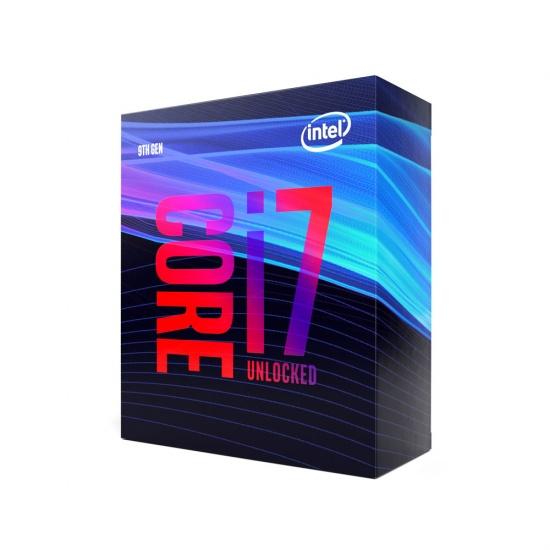 Intel Core i7-9700K 3.6GHz 12MB Coffee Lake Boxed Desktop Processor Image