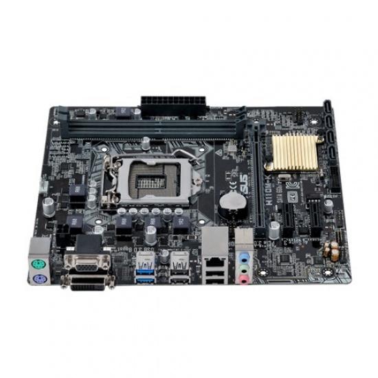 Asus Intel H110M-K Micro ATX DDR4-SDRAM Motherboard Image