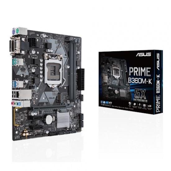 Asus Prime Intel B360 Micro ATX DDR4-SDRAM Motherboard Image