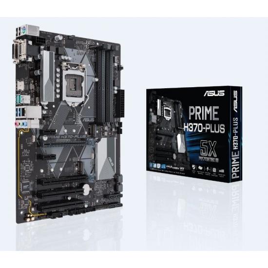 Asus Prime Intel H370 ATX DDR4-SDRAM Motherboard Image