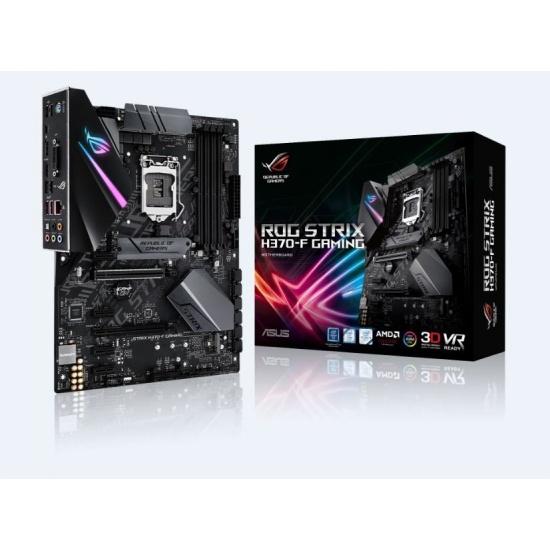 Asus ROG STRIX Intel H370 ATX DDR4-SDRAM Motherboard Image