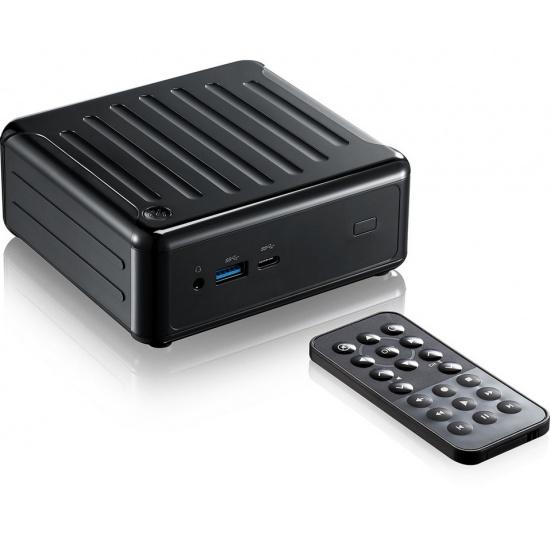Asrock Beebox S 2133MHz Intel Core i3-7100U DDR4-SDRAM PC - Black Image