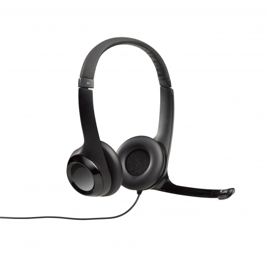 Logitech H390 Stereo Headset - Black Image