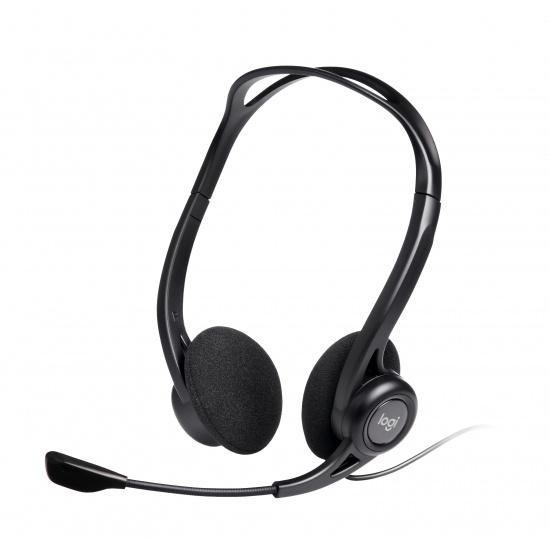 Logitech H960 Binaural Stereo Headset - Black Image