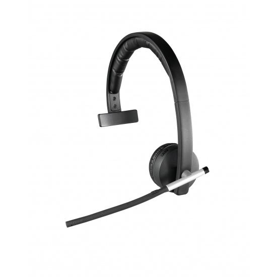 Logitech H820e Wireless Monaural Mono Headset - Black Image