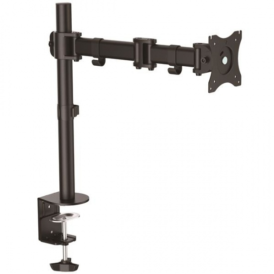 StarTech ARMPIVOTB Articulating Desk Mount Monitor Arm - Up to 27-inch Screen Image
