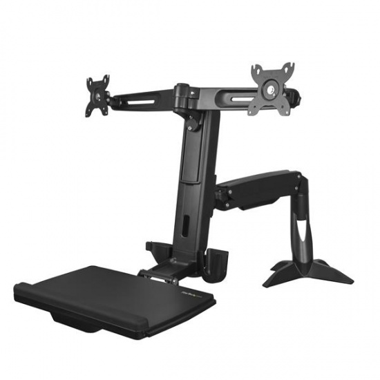 StarTech ARMSTSCP2 Sit Stand Dual Monitor Arm Image