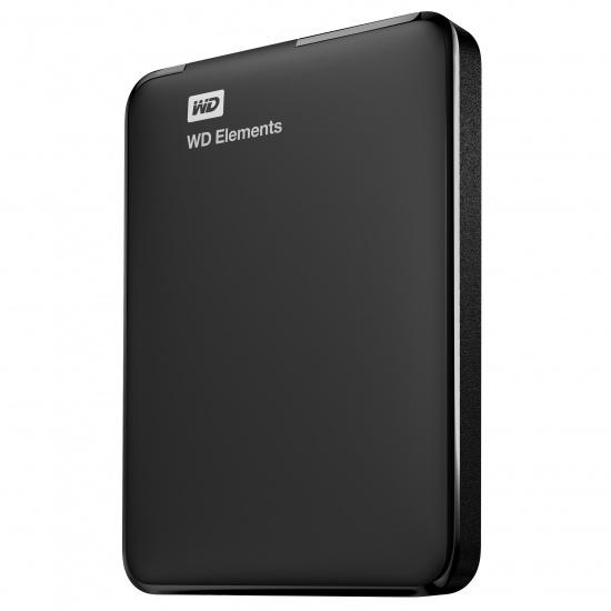 750GB Western Digital Elements 2.5-inch USB3.0 Portable Hard Drive Image