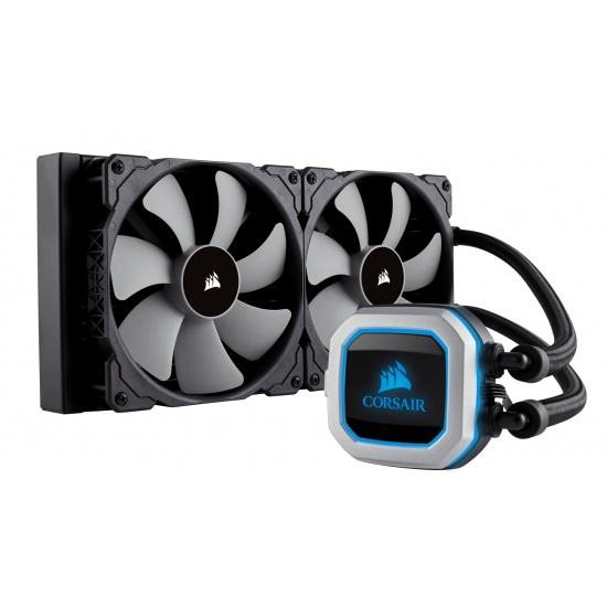 Corsair Cooler Hydro Series H115i-Pro Universal 1200RPM RGB LED Liquid CPU Cooler Image
