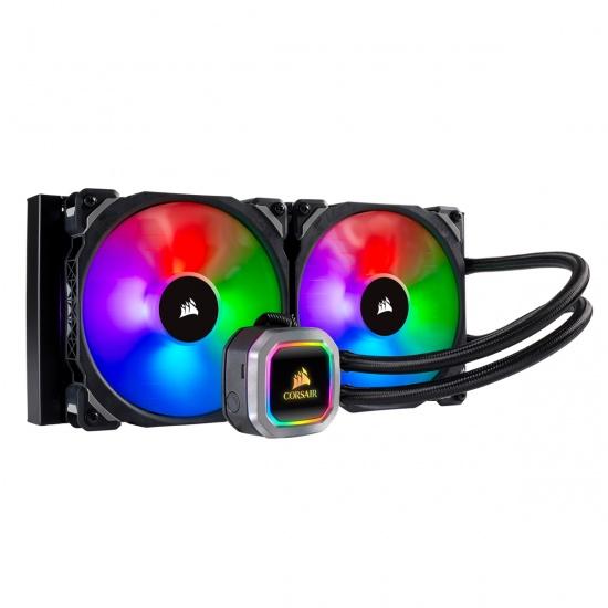 Corsair Hydro H115i RGB Platinum  280mm Liquid CPU Cooler Image